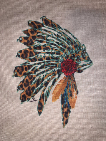 Pillow Cover {Headdress}