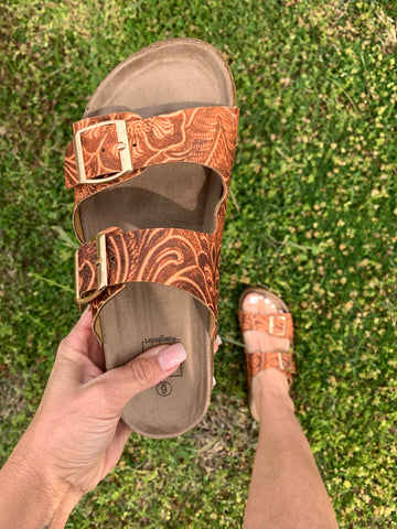 The Sawyer Sandal {Tooled}