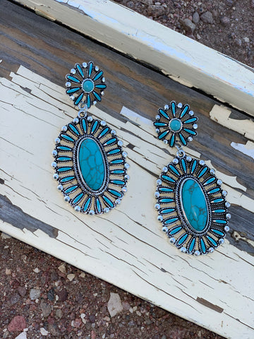 Timnath Concho Earrings