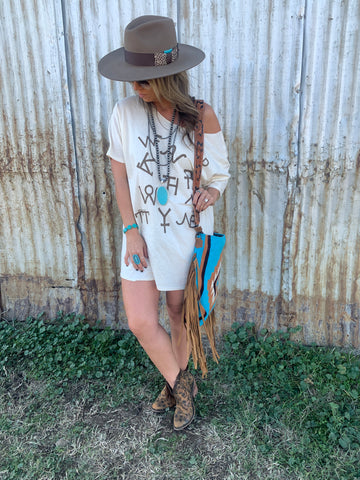 Ride for the Brand T-Shirt Dress