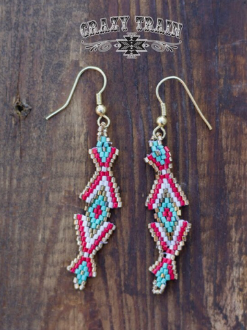 Thunderbabe Beaded Earrings