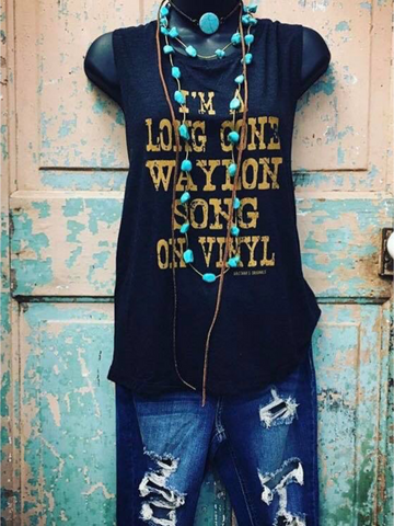 I'm a Long Gone Waylon Song Tank