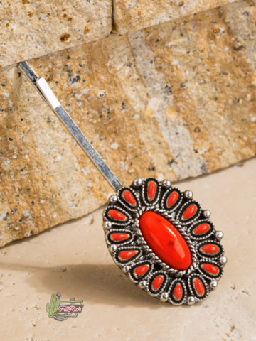 The Crimson Concho Pin