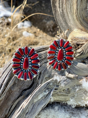 The Redfield Earrings