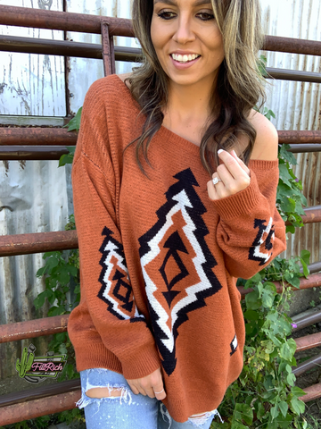 The Jackson Sweater {rust}