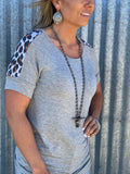 Lean On Me Leopard Top