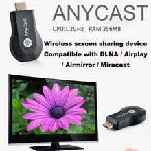 Draadloze WiFi Dongle Telefoon naar TV Video Streamen HDMI Adapter - Anycast