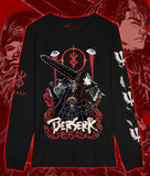 BERSERK Long Sleeve Anime/Manga Shirt