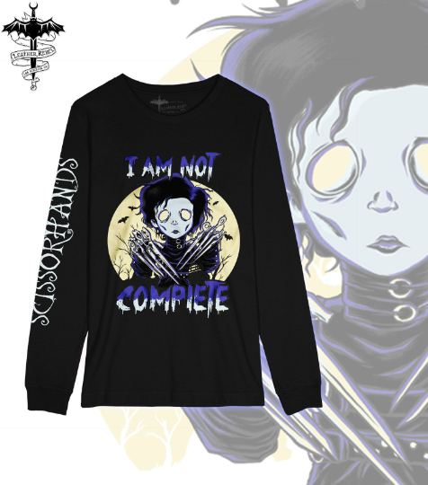 Edward Scissorhands Shirt Long Sleeve