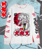 INUYASHA - Sesshomaru White Long Sleeve Shirt