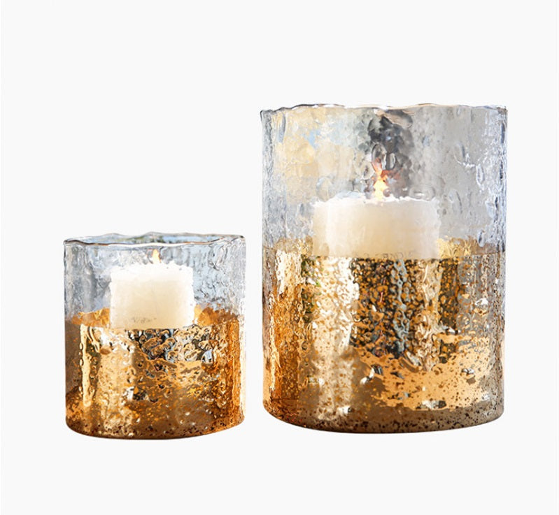 Stylish European Glass Candle Holders Home Decoration