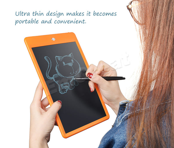 Best LCD Writing Tablet With Eraser Lock Button - Teme Store
