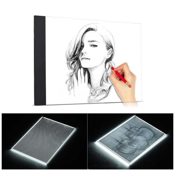 Ultra-thin LED Tablet For Drawing And Tracing - Teme Store