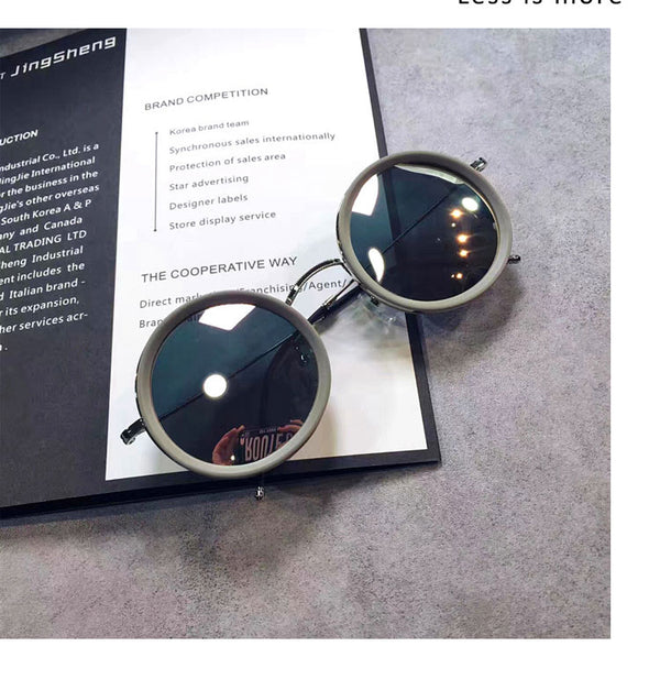 Round Frame Polarized Alluring Sunglasses - Teme Store