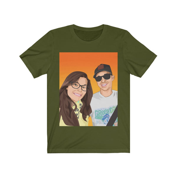 Couple Love Unisex Short Sleeve Tee