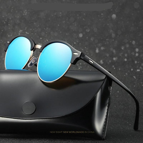 Cool Round Polarized Sunglasses - Teme Store