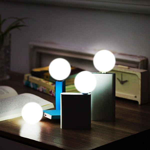 Mini USB LED Light Bulb  Lamp For Notebook PC Laptop Reading - Teme Store