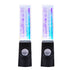 LED Light Dancing Water Speakers Fountain Music For Desktop Laptop PC - Teme Store