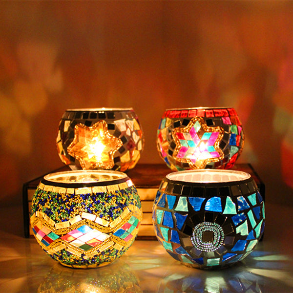 Handmade Candle Holder Romantic Candlelight Dinner Lamp - Teme Store