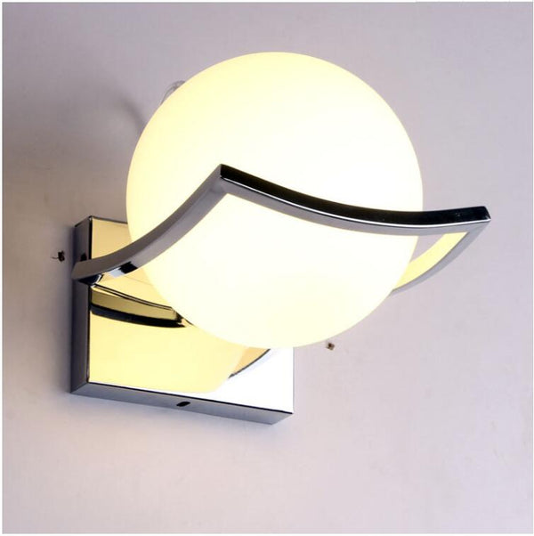 Moonlight LED Glass Wall Lamp For Home Decoration