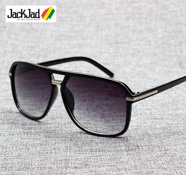 New Cool Square Vintage Style Gradient Sunglasses For Men - Teme Store