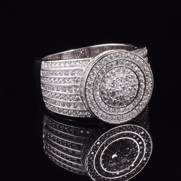 Sterling Silver Simulated Diamond Wedding Jewelry  Rings - Teme Store