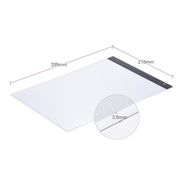 Ultra-thin Portable LED Drawing Tracer Table Painting Pad - Teme Store