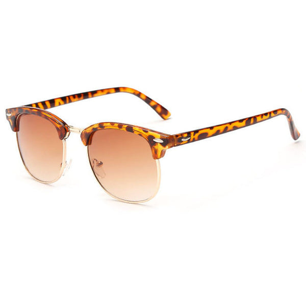 Classic Sunglasses Men Women Retro Brand Designer - Teme Store