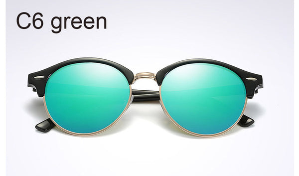 Cool Round Polarized Sunglasses Women 2018 Fashion Driving Eyewear - Teme Store