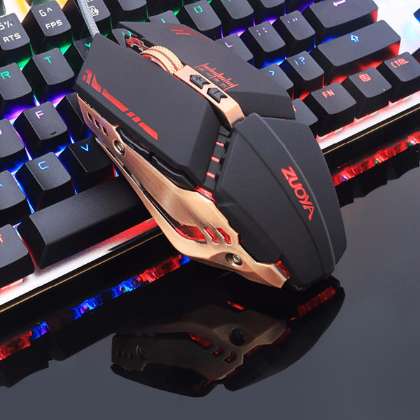 Professional Adjustable Wired Optical Gaming Mouse For Laptop PC - Teme Store
