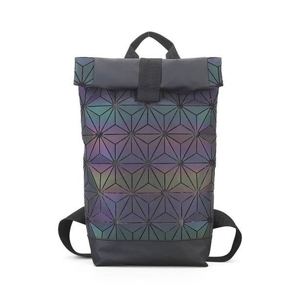 Diamond Luminous Geometric Backpack - Teme Store