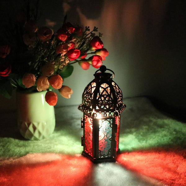 Vintage Moroccan Lanterns Candle Holder For Home Decoration - Teme Store