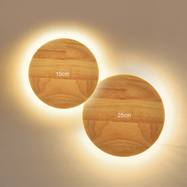 Wood Led Wall Light Home Lighting Wall Decor - Teme Store