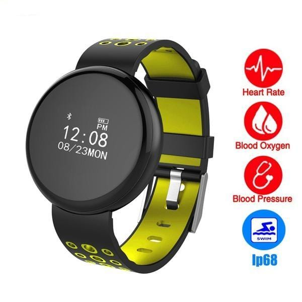Waterproof Sports bluetooth blood pressure heart rate monitor smartband For iphone - Teme Store