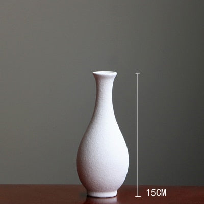 Modern Grind ceramic Vases For Table Decor - Teme Store