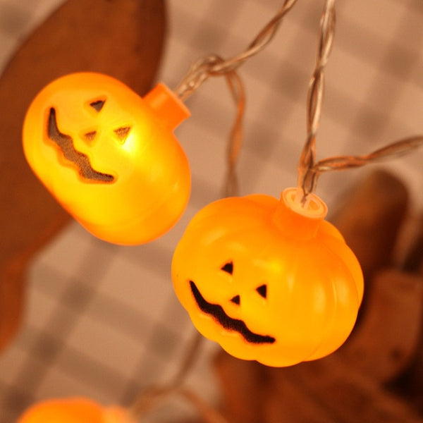 Halloween Decor Pumpkins/Ghost/Spider/Skull LED Lanterns Lamp
