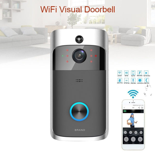 Smart WiFi Wireless Video Doorbell Intercom System For Home Security - Teme Store