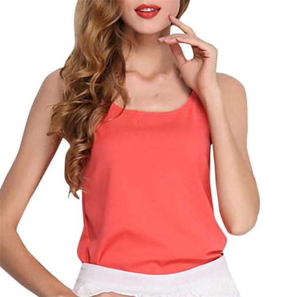 Sexy Camisole Tank T-shirt Blouse