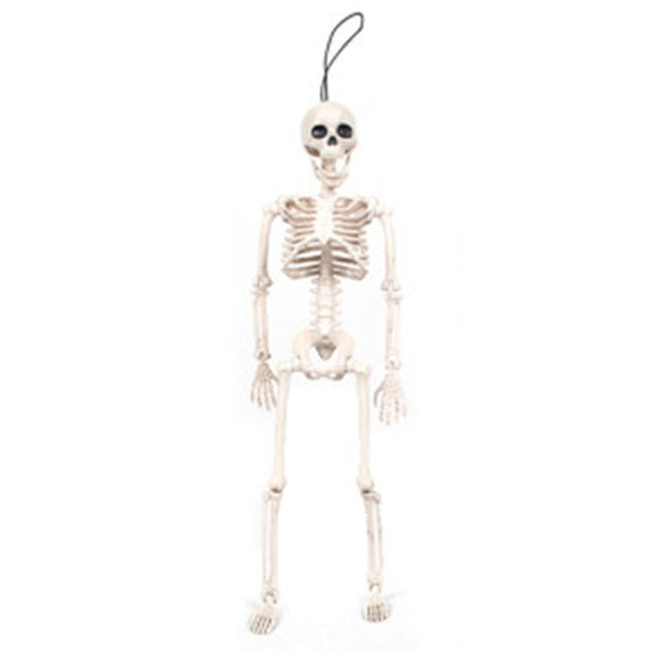 Plastic Skeleton Bride and Groom For Halloween Party Supplies