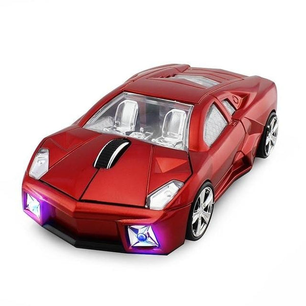 Wireless Sports Car Shaped 3D USB Optical Gaming Mouse