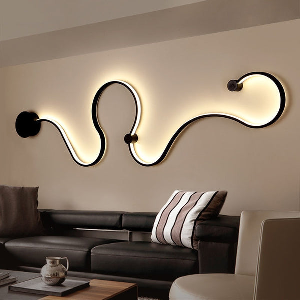 Nordic Creative Wall Light LED Bedroom Decoration| Living Room Decoration| Hotel Corridor Wall Decor - Teme Store