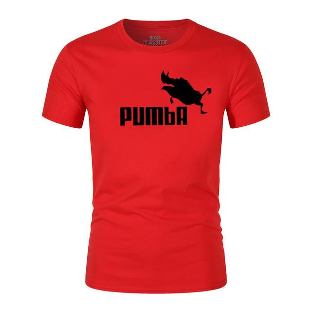 5eaa39db0 ... 2018 funny tee cute t shirts homme Pumba men woman 100% cotton cool  tshirt lovely ...
