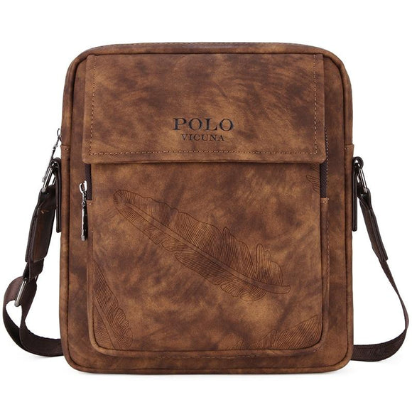 ab8938730102 New Fashion Men Bags Top Leather Male Travel Bag Double Zipper Men  Messenger Bags Small Crossbody