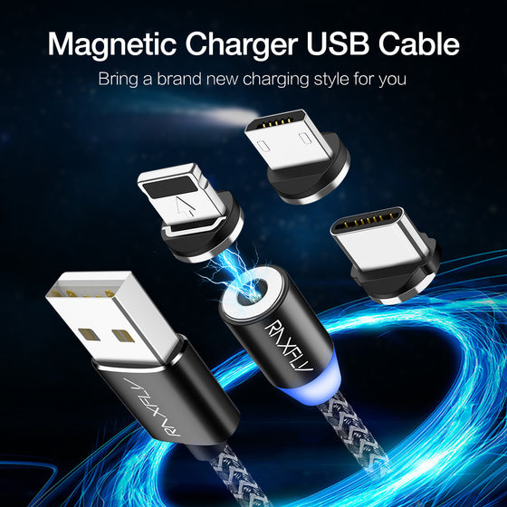 iPhone X USB Magnetic Charging Cable