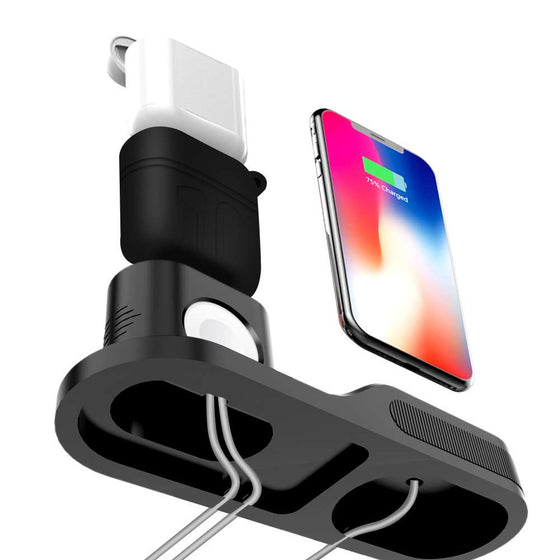 3 in 1 Charging Stand Station for Apple