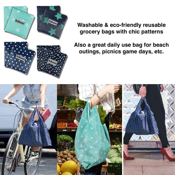 Reusable Grocery Bags (8 count)