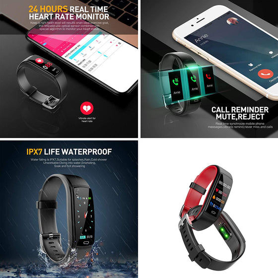 Smart Watch Fitness Tracker (Android and iPhone)