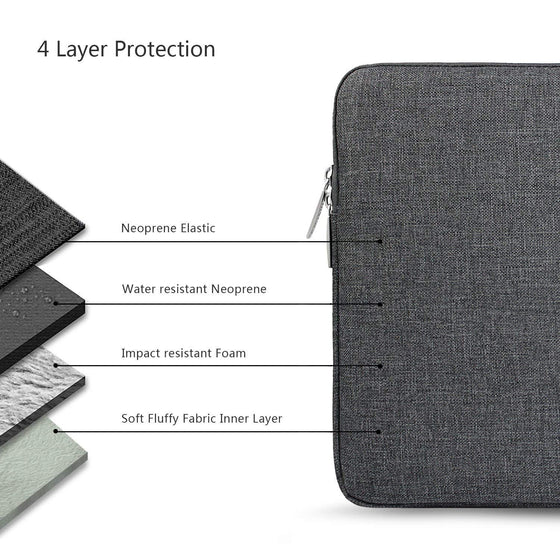 Laptop Protective Sleeve Case (13-13.3 Inch)