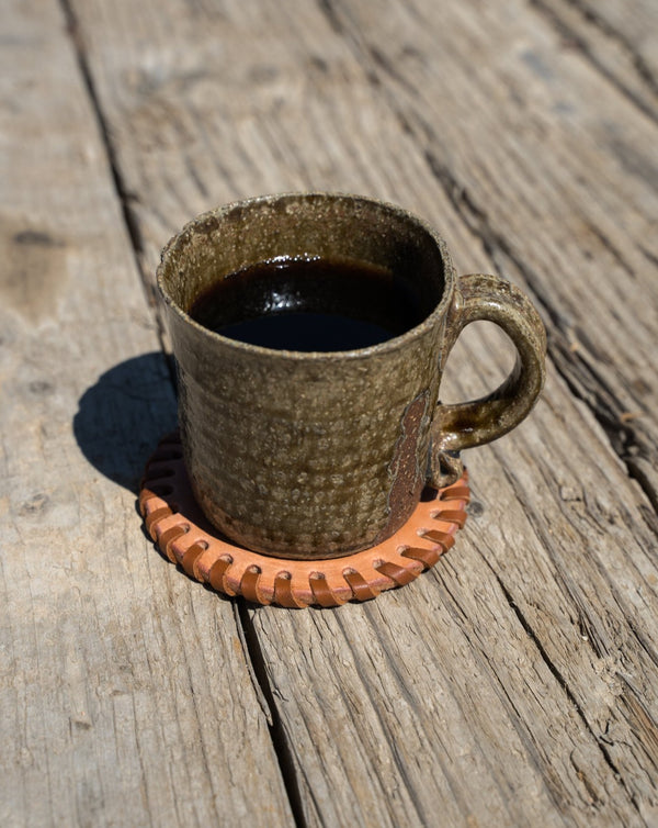 Make Your Own: Laced Coasters