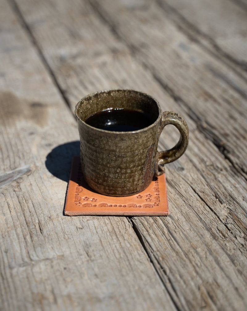 Make Your Own: Stamped Coasters